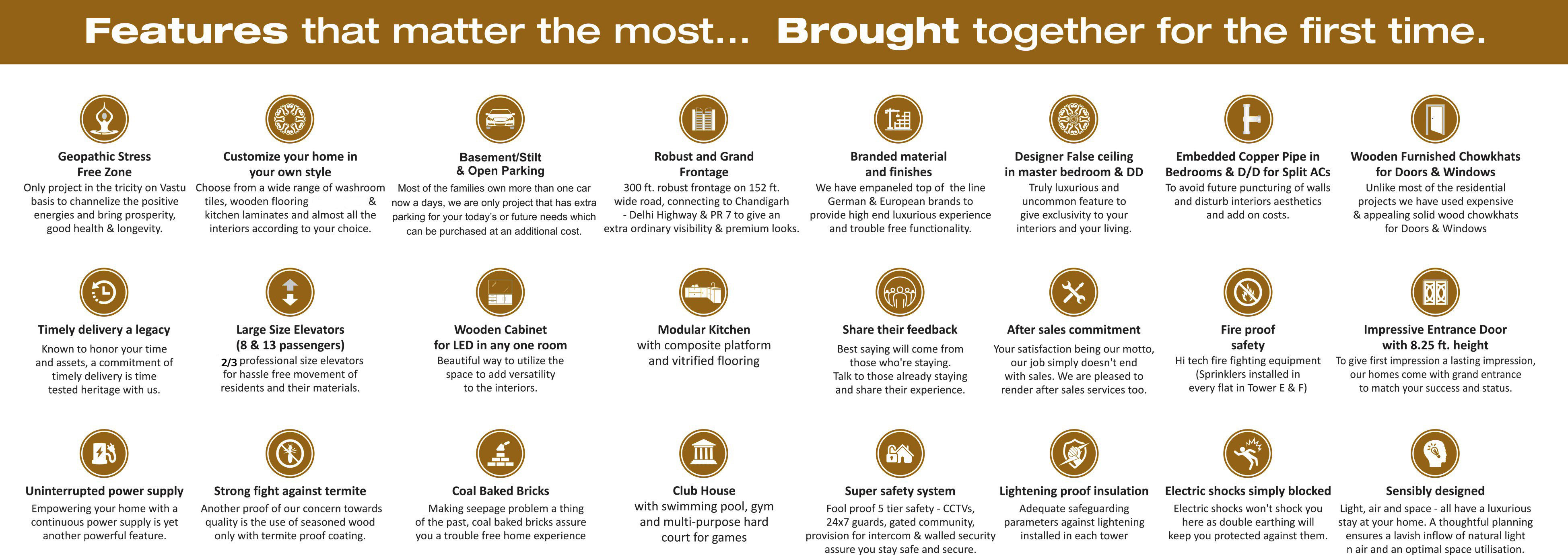 24 Lifestyle Features - Welcome to Golden Sand Apartments